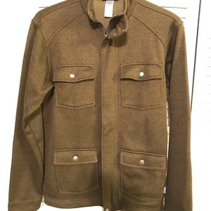 Patagonia Better Sweater military zip up jacket
